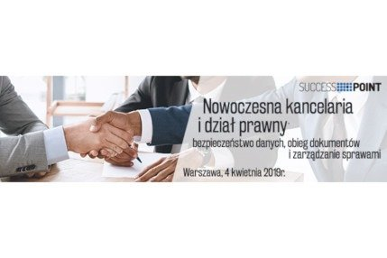 """Mecenas.iT partnerem konferencji """"Nowoczesna kancelaria i dział prawny"""" 2019r."""
