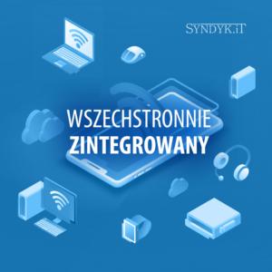 Syndyk.iT jest zintegrowany z różnymi innymi narzędziami