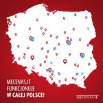 Mecenas.iT, Syndyk.iT mapa wdrożeń stan na koniec 2020