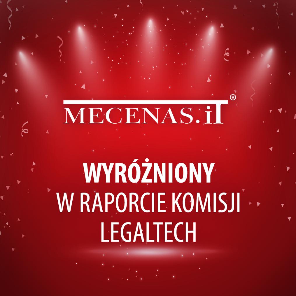 Raport Komisji Legaltech OIRP Warszawa – Mecenas.iT najczęściej użytkowanym systemem zarządzania według ankietowanych!