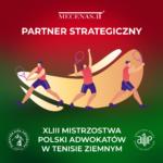 XLIII Mistrzostwa Polski Adowkatów w Tenisie ziemnym