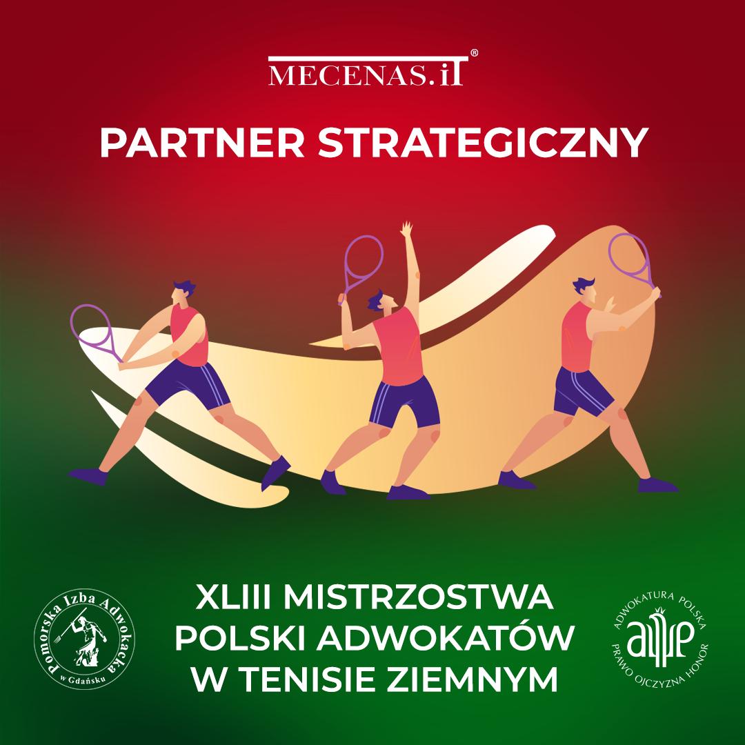 XLIII Mistrzostwa Polski Adwokatów w tenisie ziemnym! Mecenas.iT został Partnerem Strategicznym